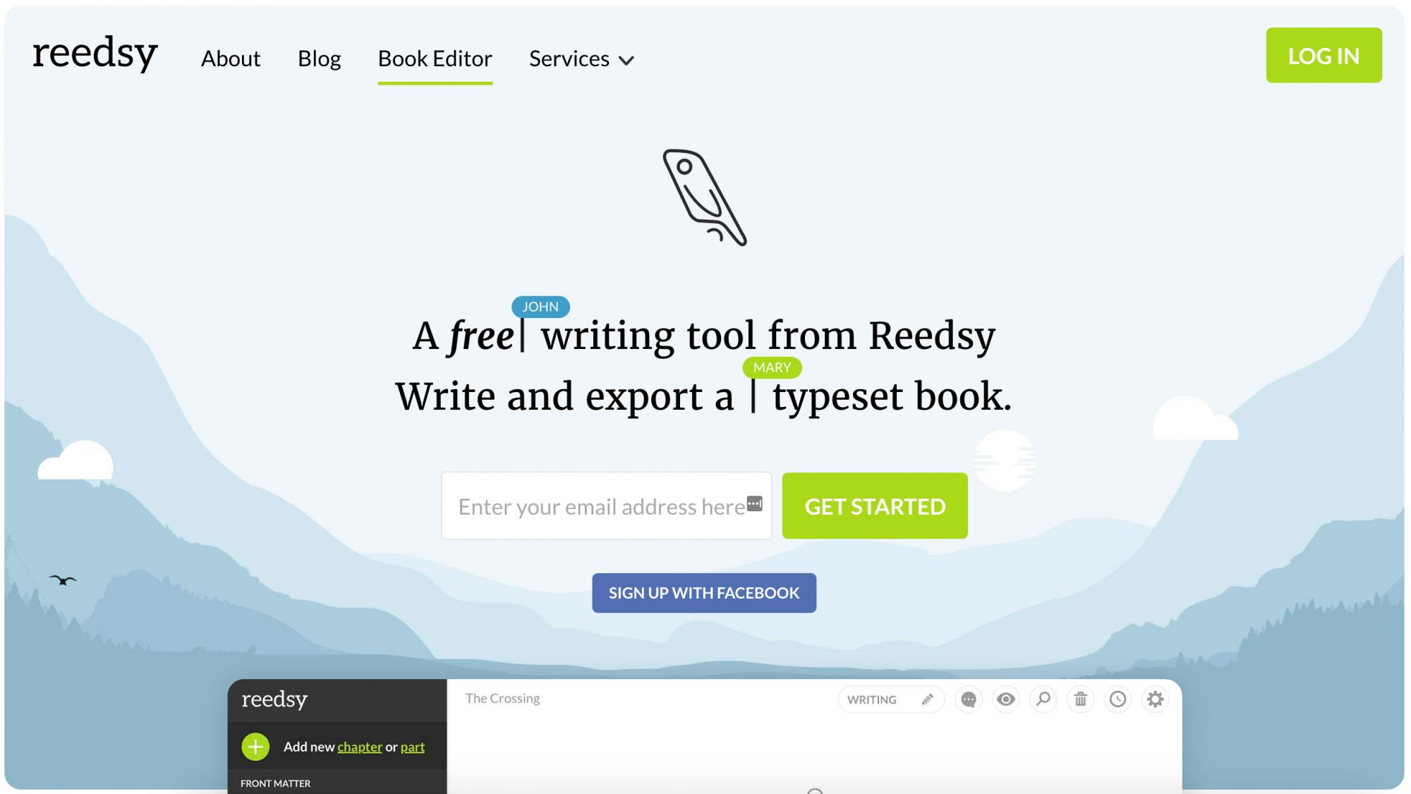 Reedsy Book Editor