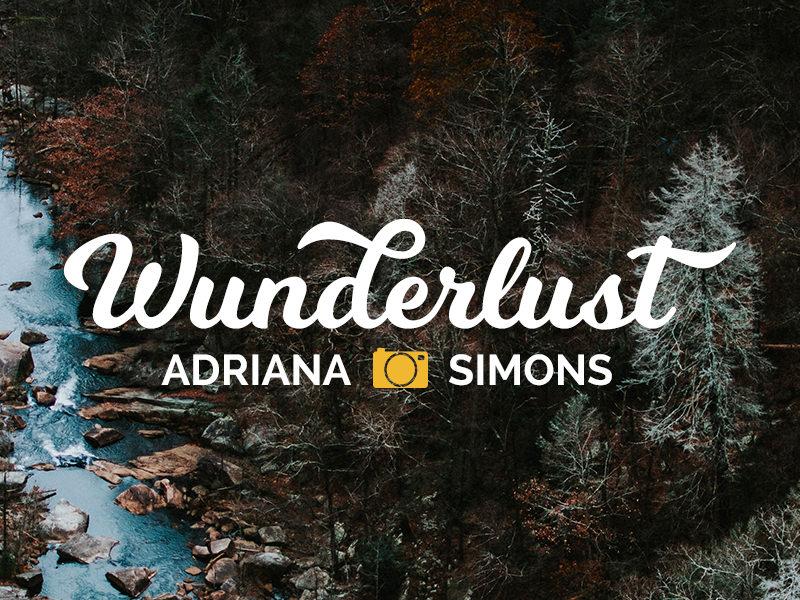 Free wunderlust photography logo