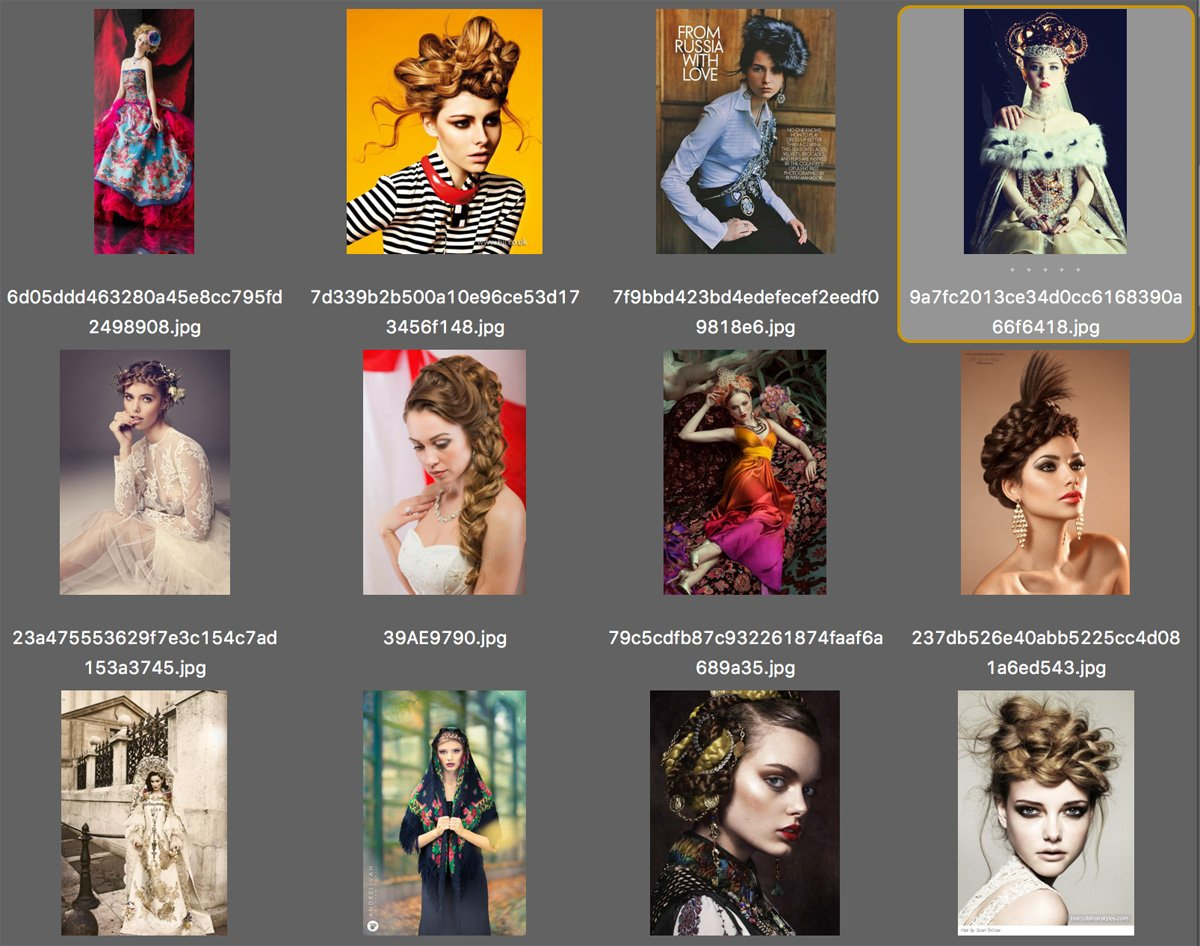 Think about the style for your creative photo shoot