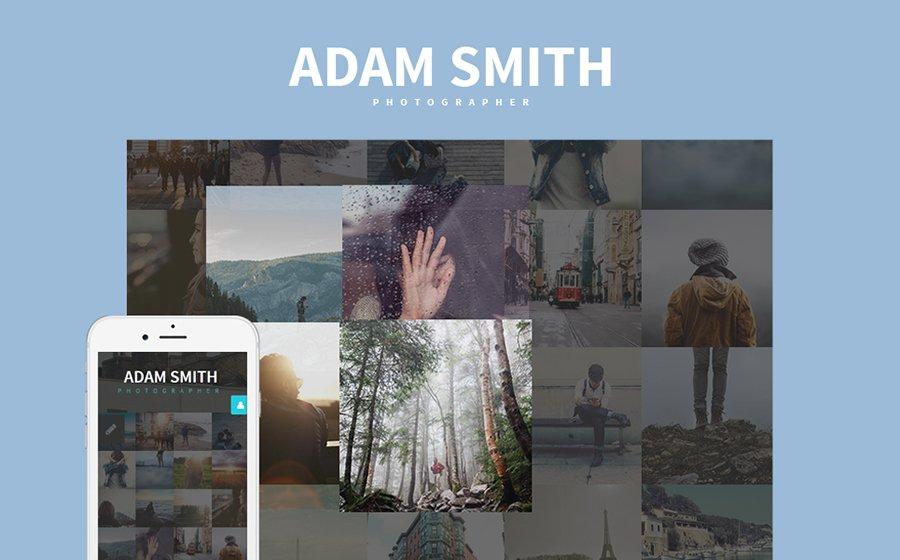 photographer portfolio Joomla template