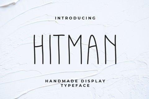 Hitman Free Font