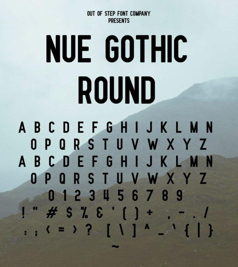 Free modern and clean sans serif font