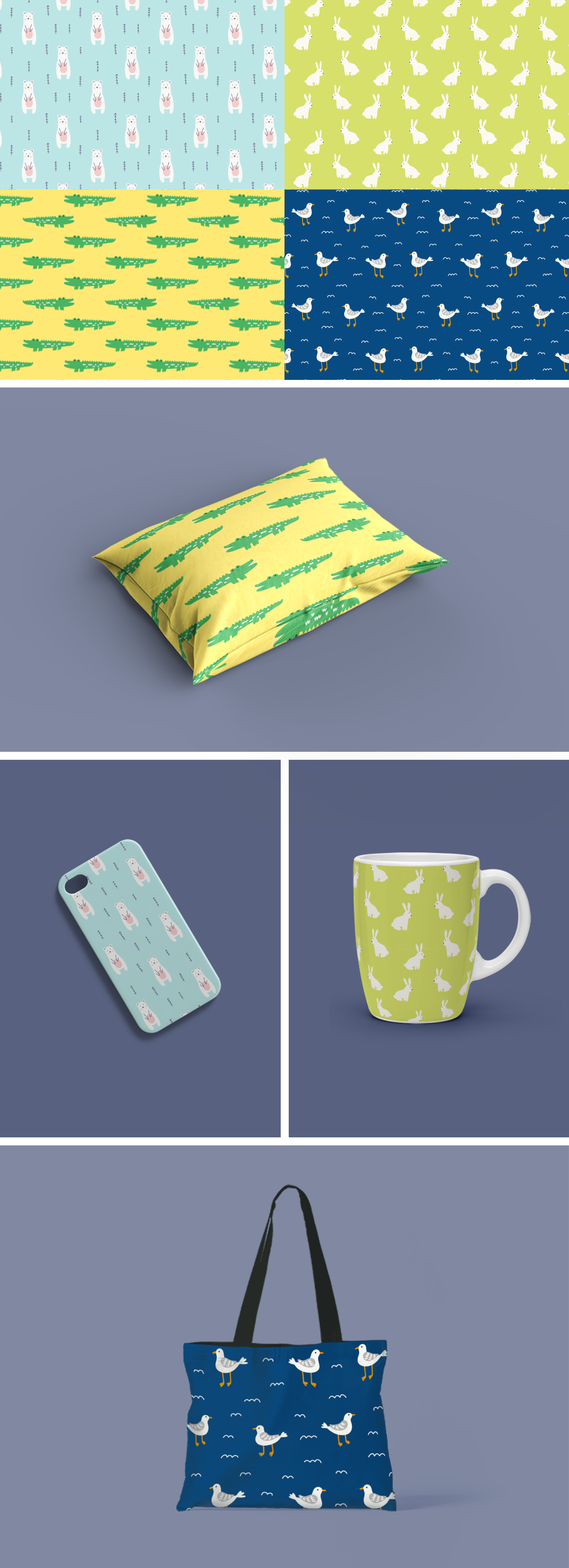 Free vector patterns pack